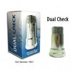 Dual Check Valve Back Flow Prevention
