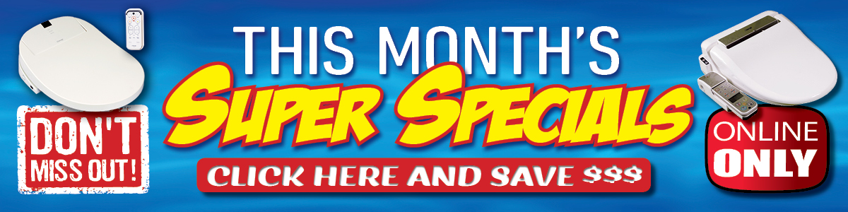 This months specials banner