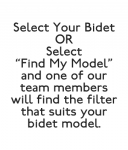 Bidet Filters